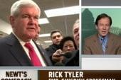 Fmr. Gingrich spokesman on leaving...