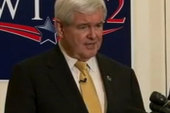 Gingrich chases himself, Romney runs from...