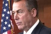 Boehner buckles