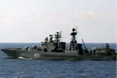 Iran flexes military muscle in Strait of...
