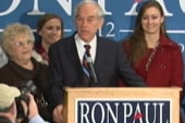 Ron Paul and son campaign together in Iowa