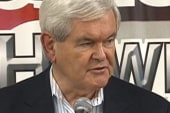 Gingrich touts experience in last minute...
