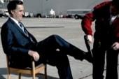 Romney shoeshine photo actually charter...