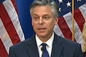 Huntsman's exit means Romney's endorsement