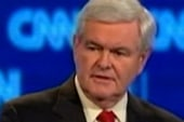 Gingrich blasts media over 'ex-wife question'