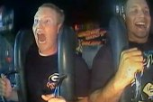 Best reaction ever on amusement ride?