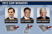 GOP race takes a turn with Gingrich ahead