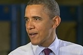 Obama pushes for more job creation