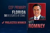 Romney secures Florida primary victory