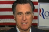 Romney stays on message