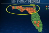 What do you see in Florida?