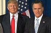 Trump picks Romney