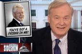 Clinton surprises college friend on...