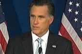 Clear line between Obama and Romney on...