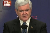 Blasting off with Newt Gingrich, moon man