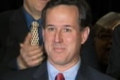 Triple play for Santorum