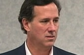 Santorum wins big, Romney talks tough