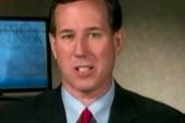 Santorum surges ahead