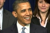 Obama to men: Don't forget Valentine's Day