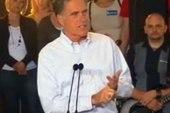 Matthews: Santorum's never changed, Romney...