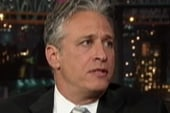 Stewart, Letterman talk presidential politics