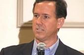 Santorum, Romney play defense