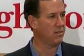Rick Santorum plays 'theology' card with...