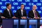 Santorum brings his 'B game' to debate