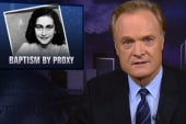Mormon proxy baptism targets Ann Frank....