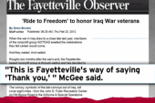 Fayetteville to honor Iraq vets with parade