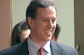 Are Santorum's assaults on college, JFK a...