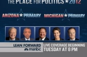 Live Tuesday primary coverage at 8pm ET
