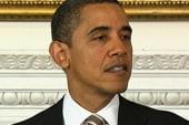 Obama gets stronger as message sticks