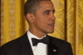 President Obama salutes Iraq vets with...
