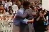 The hug heard round the world?
