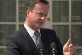 British PM Cameron's austerity plans a...