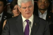 Newt Gingrich drops out for no man