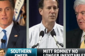 What does Santorum's Southern sweep mean...
