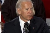 Biden unleashes on candidates