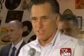 Romney's pancakes and Santorum's porn