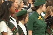 Honoring the Girl Scouts
