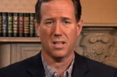 Santorum: Unemployment rate 'doesn't...