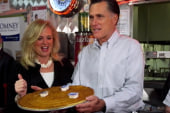 Romney aims to lock up nomination in Illinois
