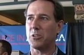 Santorum last gaffe before Illinois contest
