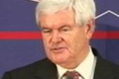 Should Gingrich quit? Would that benefit...