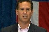 Santorum's big endorsement