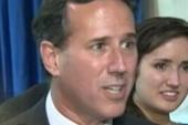 Top Lines: Fired up Santorum calls 'BS'...