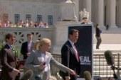 Panel: Romney vs. Santorum on the health...