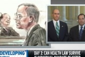 Congressmen get testy over health care law