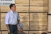 Rewriting Romney's town hall dodge on...